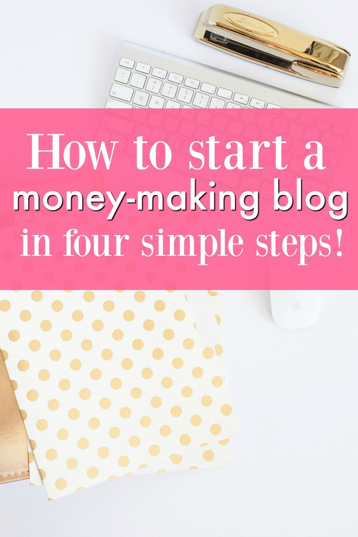 Ready to start a blog?! I've been blogging for two years and am now seeing a consistent, $1000+ monthly income from my blog for about five hours a MONTH! Blogging is the perfect side hustle for anyone who is looking to make some extra money. Plus, it's fun :) Here's my guide on how to start a blog in four simple steps!
