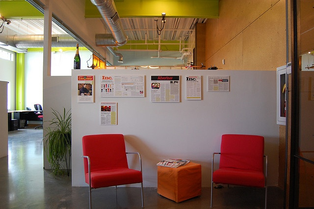 Denver Office   Front Seating Area By Red Door Interactive, Via Flickr