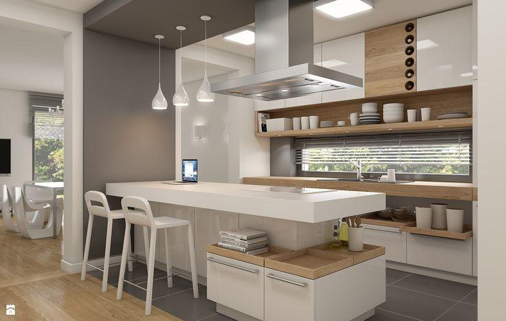 Interessante Ab-Teilung der Küche vom Essbereich WERDHOME