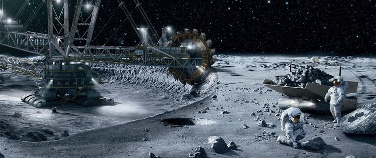 NASA Scientist Claims Space Mining is Possible With Todays Tech