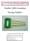 Toddler Softie Handsaw Sewing Pattern PDF