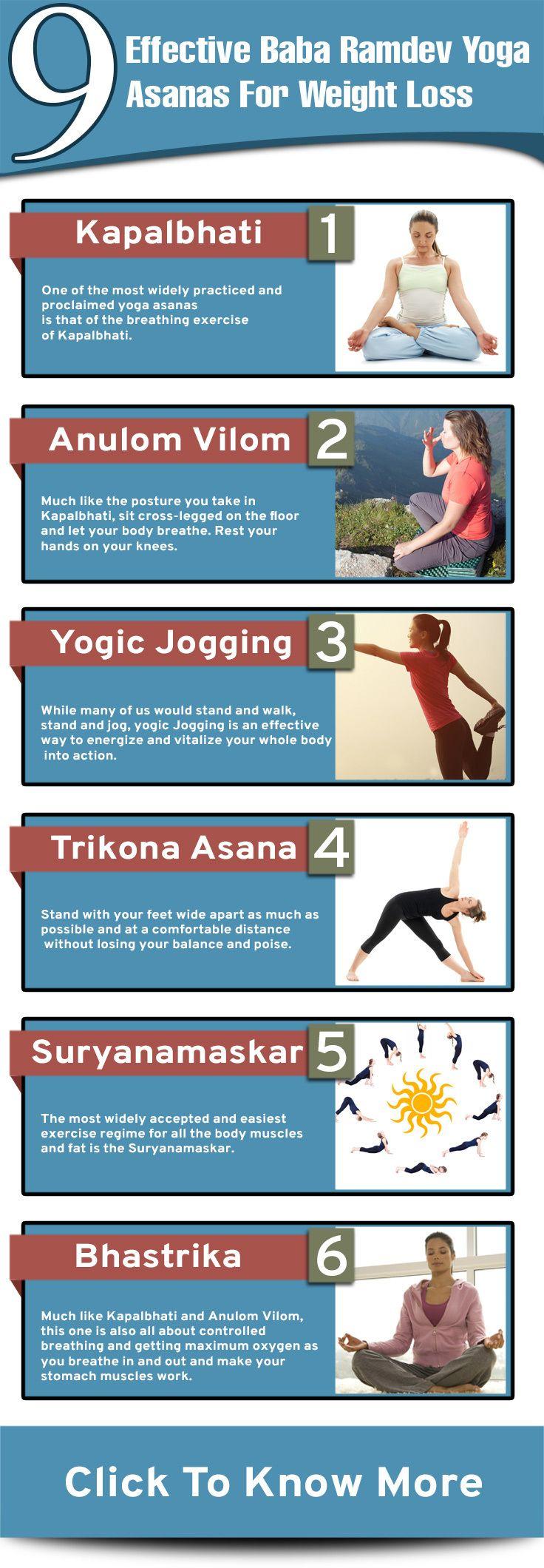 9 Effective Baba Ramdev Yoga Asanas For Weight Loss