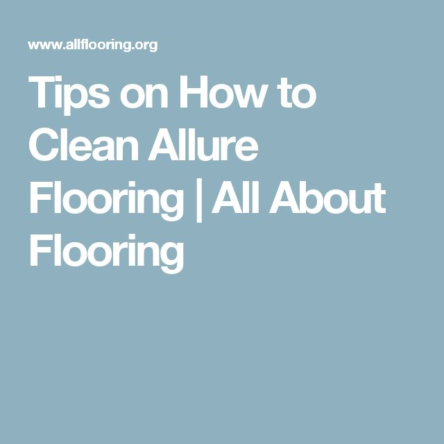 17 Best Ideas About Allure Flooring On Pinterest Vinyl