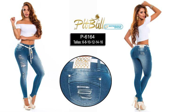 Pantalones Pitbull #originales #originaldesing #levantacola #push #up #pantalones #rotos #cinturon #moda #jeans #azul #pantalonajustado #nuevosestilos #fotos #vaqueros