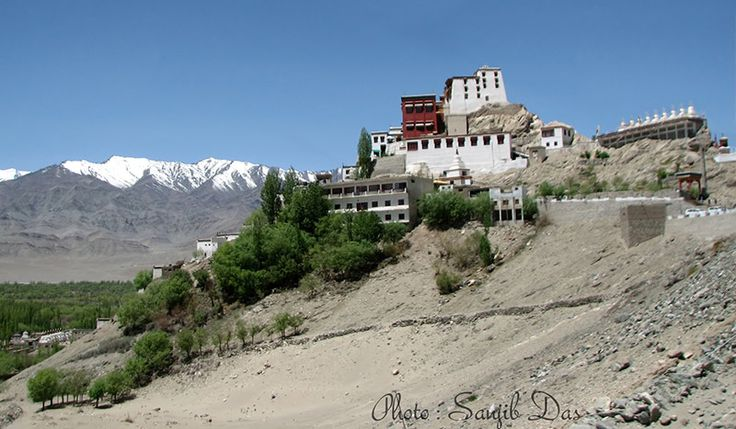 Thikse Monastery Album: Ladakh - The Forbidden Wilderness Photo Credit: Sanjib Das  Ladakh means the land of high passes, lies at an altitude from 9000 ft to 25170 feet, a region of India in the state of Jammu and Kashmir. In May, 2012 Sanjib Das with a team of five members went to this lunar land and were simply amazed throughout the trip. In this photo album you can feel the splendid view of majestic Wild Ladakh, land, people and their culture.