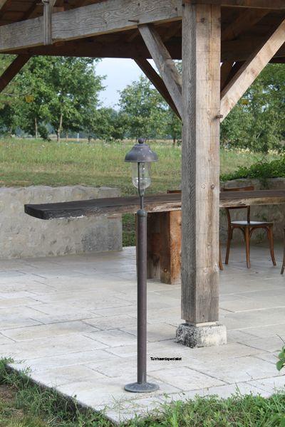 Bogera, Lantaarnpaal | voor uw buitenhaard, tuinfakkel, buitenverlichting | Tuinhaard specialist