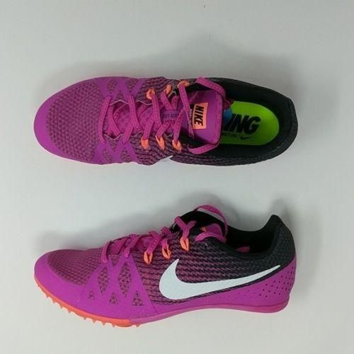 ff4d140cd239 Nike Zoom Rival Women s Spikes Track Racing Shoes 806559 601 Fire Pink Size  10