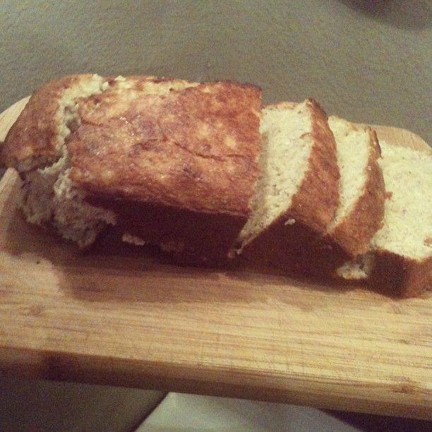 Delicioso y Saludable Pan de Platano (con harina de almendras o de coco)