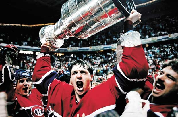 """""""Patrick Roy posted a record-tying 15 wins with a 1.92 goals-against average in 20 playoff games en route to Habs' Stanley Cup win in 1986."""""""