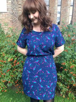 Victoria's Bettine dress - sewing pattern by Tilly and the Buttons