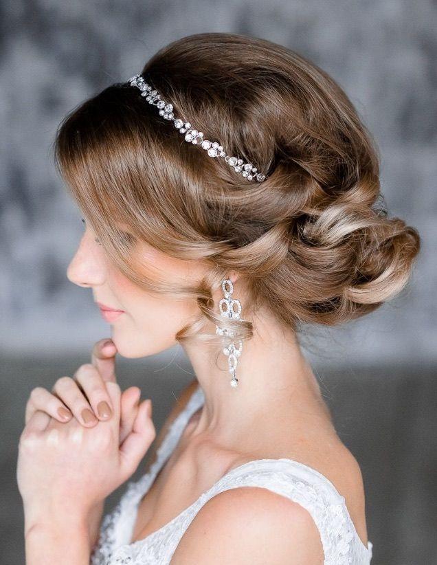 Best 25 wedding tiara hairstyles ideas on pinterest tiara fabulous wedding hairstyles from elstile pmusecretfo Images