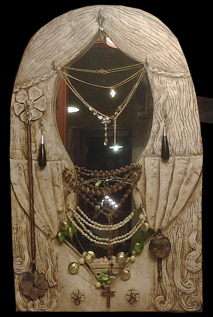 mirror for jewelry