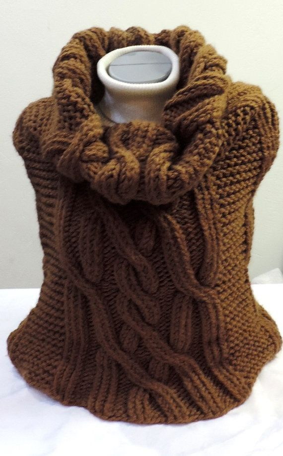 Oversize cowl very interesting neck cowl by ColorfullmadeShop