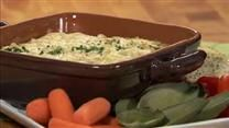 Alfredo sauce brings a rich, creamy twist to an old favorite. Serve this hot dip with bread sticks, chips or crackers.