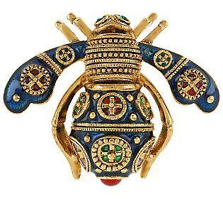 Joan Rivers Imperial Bee Pin