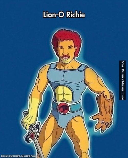 Funny memes Lionel Richie...