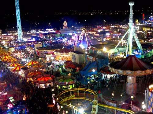 The place of my dreams from the ages of 4-16.  Hull Fair