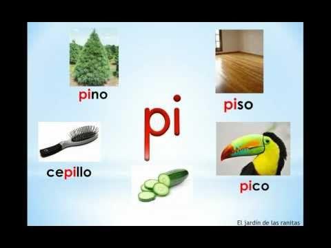 # 2 Sílabas pa pe pi po pu - Syllables with P
