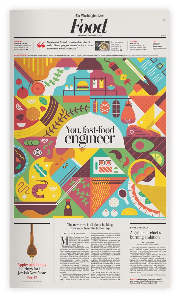 Washington Post - Food on Behance