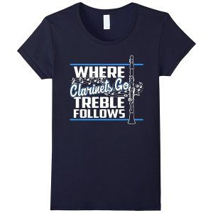 Treble Follows Clarinets T-Shirt