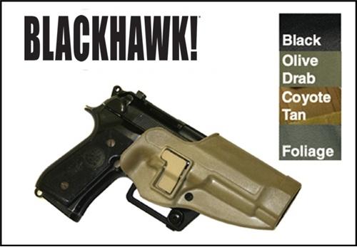 BlackHawk Holster-CQC SERPA-Beretta 92/96 (Right Hand) @ Ranger Joes