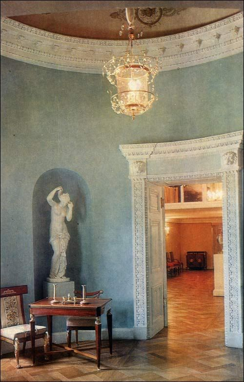 Anteroom - Round Room - Pavlovsk Palace & Park - Country Residence of the Russian Imperial Family