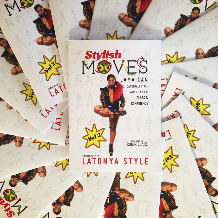 Stylish Moves Vol 2 - choreography by Latonya Style, illustration by Robin Clare