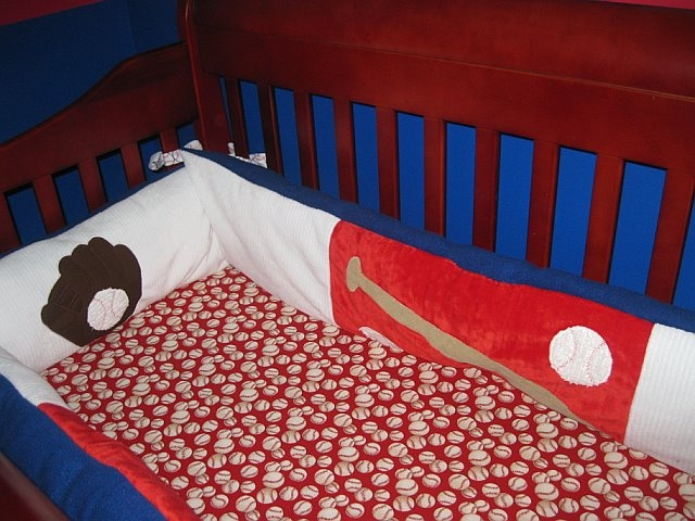 vintage baseball crib bedding sets 2