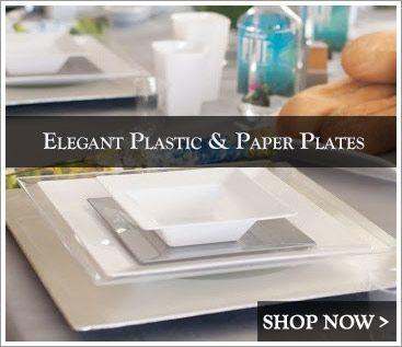 Elegant Plastic Dinnerware - Posh Party Supplies