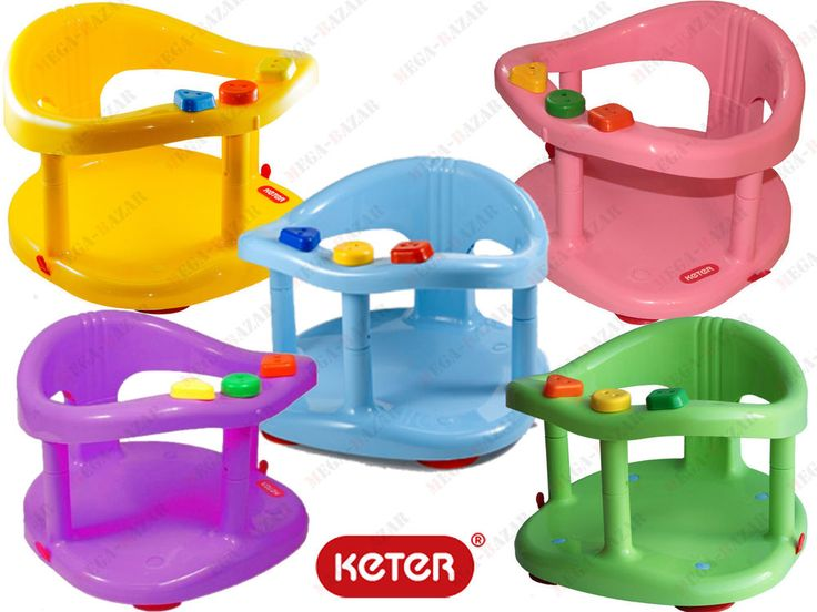 Baby Bathtub Ring Seat Bath Tub by KETE - New Infant Safety Anti Slip Bath Ring #Keter$14 plus $12/shipping