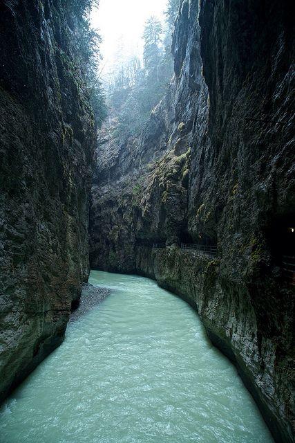 Aareschlucht, Switzerland