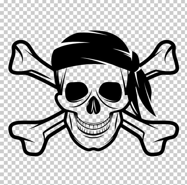 Skull And Bones Skull And Crossbones Human Skull Symbolism Jolly Roger Piracy Png Artwork Black And White Bone Cros Skull And Bones Crossbones Human Skull