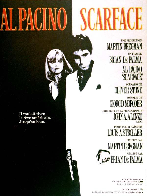 affiche du film Scarface (1983)