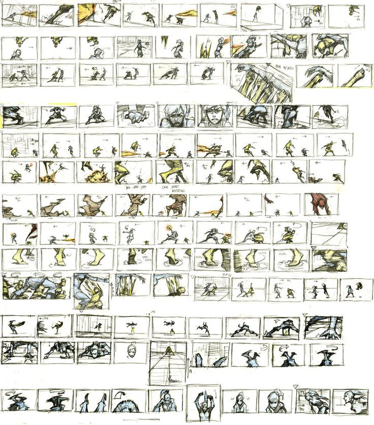 SpongeBob Storyboard Notes by shermcohen.deviantart.com on ...