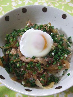 残ったすき焼きで❤豚丼 by naechama [クックパッド] 簡単おいしいみんなのレシピが256万品