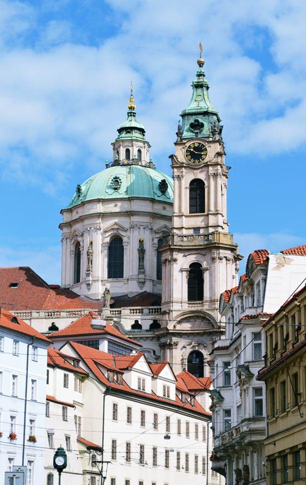 Malá Strana and Church of St. Nicholas #Prague