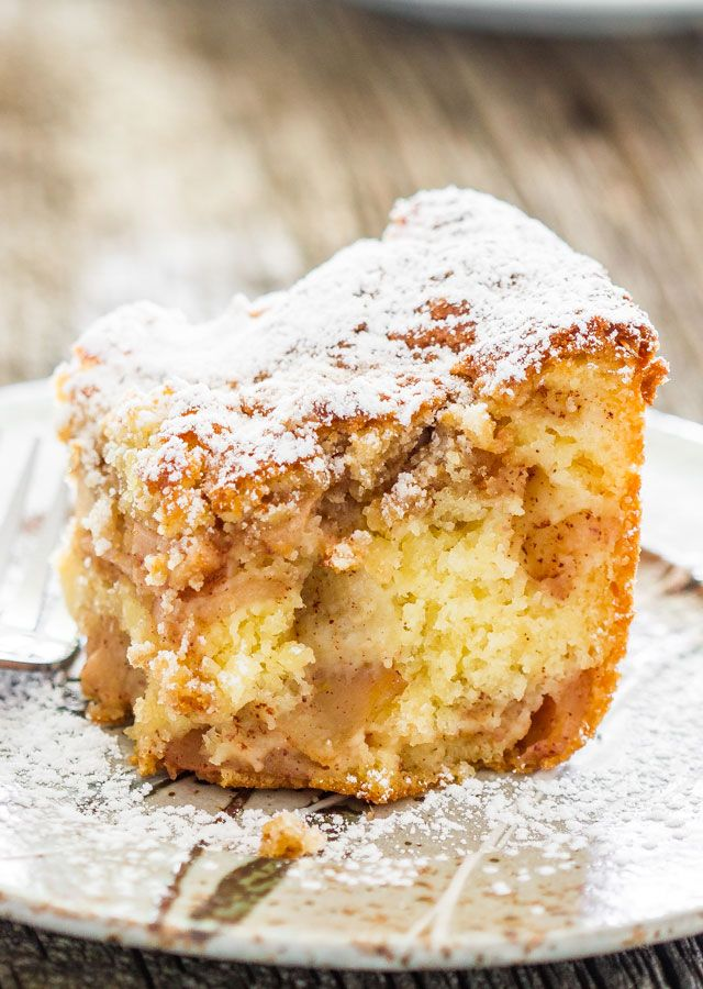 Apple Pie Cake - Is it pie or is it cake? It's both! For those times when you…