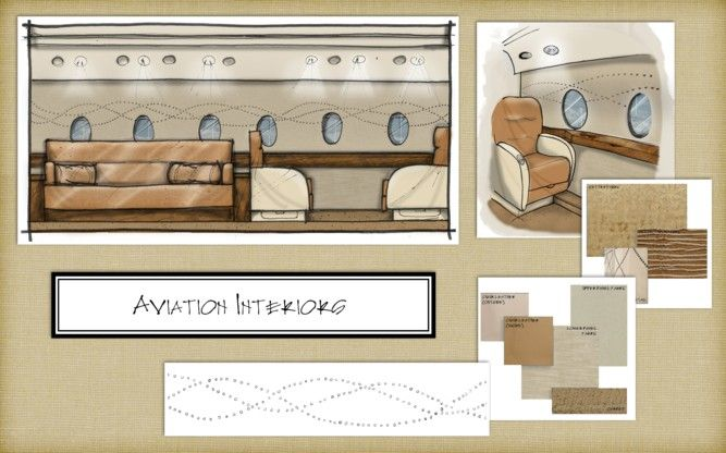 Commercial, Aviation Interiors | Marc-Michaels Interior Design, Inc.