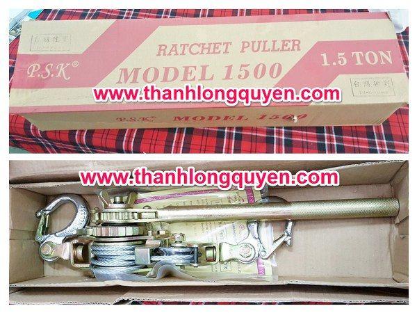 KÍCH CĂNG CÁP 1.5 TẤN PSK 1500