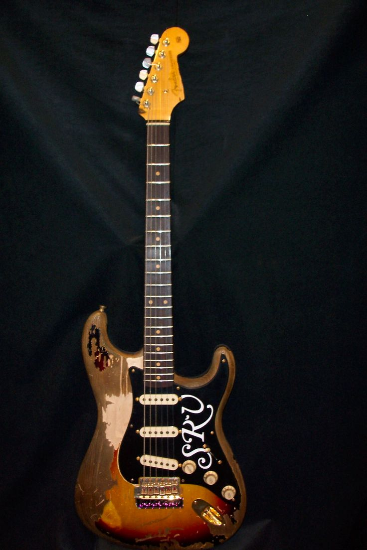 """Stevie Ray Vaughan's """"Number One"""" ('62 Fender Stratocaster)"""