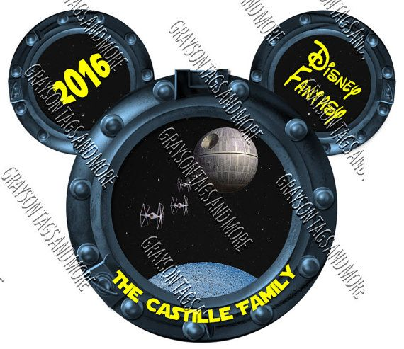 Personalized STAR WARS Inspired Porthole by GraysonTagsandMore.