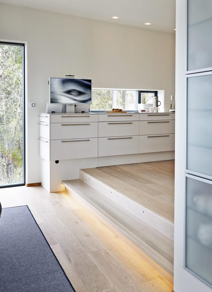 ... on Pinterest Smart kitchen, Mid-century modern and Plan de travail