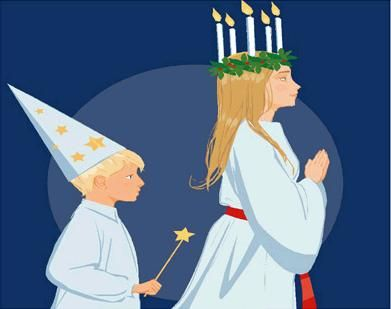 Santa Lucia & The Star Guy | Flickr - Photo Sharing!