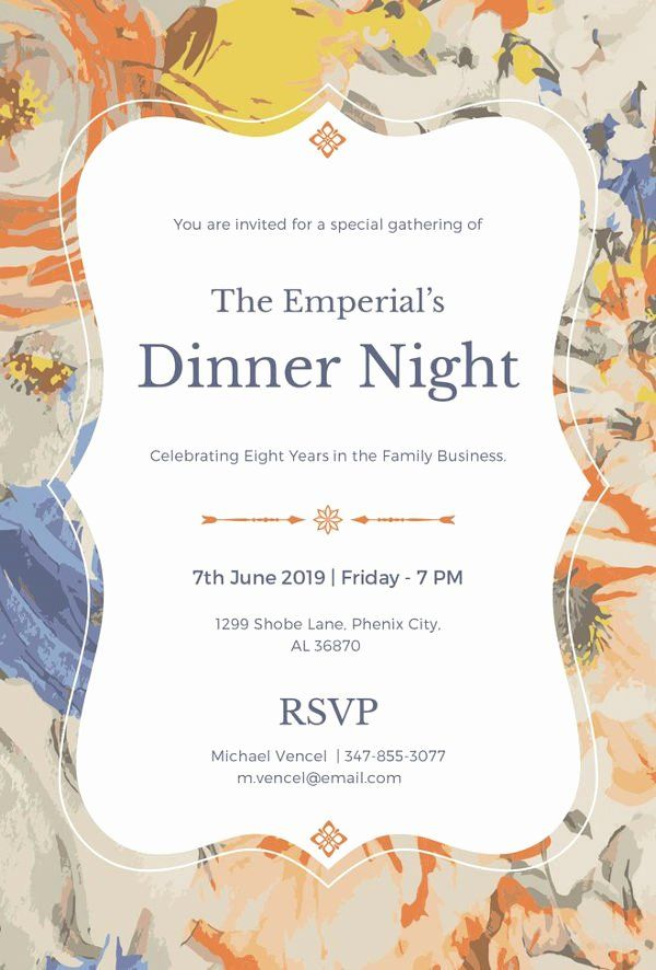Dinner Party Invitation Template Free Luxury 8 Dinner Invitation Card Templates Psd Ai Dinner Invitation Wording Dinner Party Invitations Party Invite Template