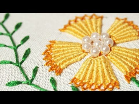 You can stitch any of pattern using these stitches, If you've embroidered any other designs based on bullion stitch technique, I…