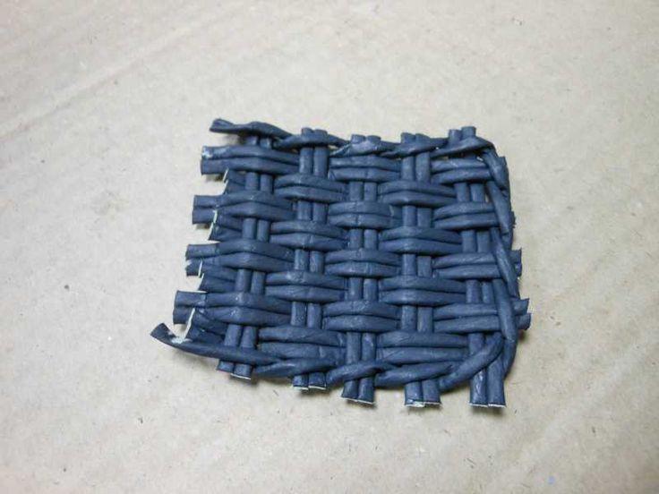 Тема: Мастерская Веточки (193/213) - Плетение из газет и другие рукоделия - Плетение из газет