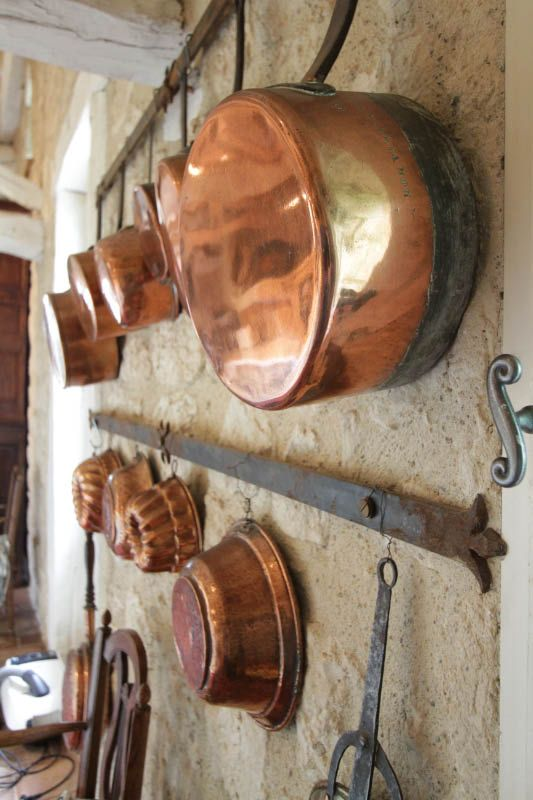 Copper pots.......Must haves