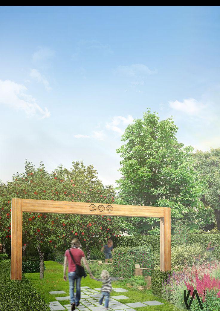 PROJECT \\  'moGARDEN't' community garden    visualisation 'I'  HEALTH   EDUCATION   COMMUNITY   DEVELOPMENT   NATURE by kART LANDSCAPE DESSIGN