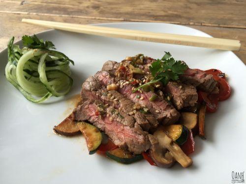 Wednesday Challenge Day Beef Teriyaki
