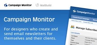 For Designers who creates and send email newsletter for themselves and their clients.